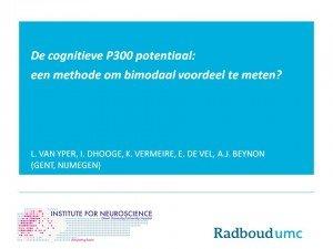 plaatje cognitieve p300 potentiaal